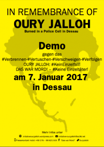 Oury Jalloh Demo 2017